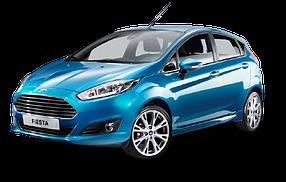 Коврик в багажник для Ford (Форд) Fiesta 6 2008-2017