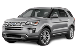 Коврик в багажник для Ford (Форд) Explorer 5 2010-2019