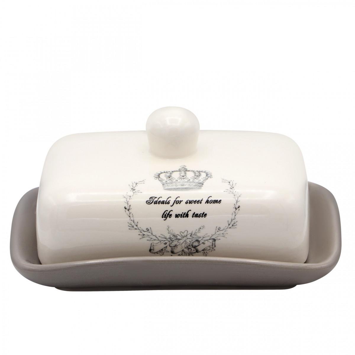 "Маслянка керамічна ""Корона"" ZFC046 CR"