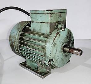 Б/У Электродвигатель Mez Mohelnice тип 3AP71-2. Асинхронный электродвигатель Mez Mohelnice 550Вт 2820 об / мин, фото 2