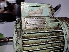 Б/У Электродвигатель Mez Mohelnice тип 3AP71-2. Асинхронный электродвигатель Mez Mohelnice 550Вт 2820 об / мин, фото 3
