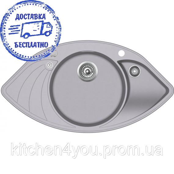 Гранітна мийка AquaSanita Papilon SCP-151 AW (945х505 мм.)