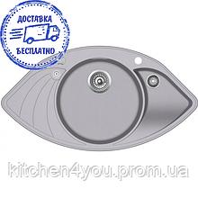 Гранитная мойка AquaSanita Papilon SCP-151 AW (945х505 мм.)
