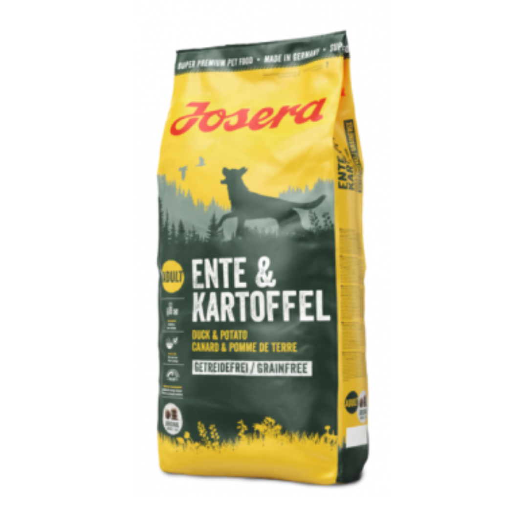 Корм Йозера Качка з картоплею Josera Ente&Kartoffel для собак 15 кг спрей  фр та доставка