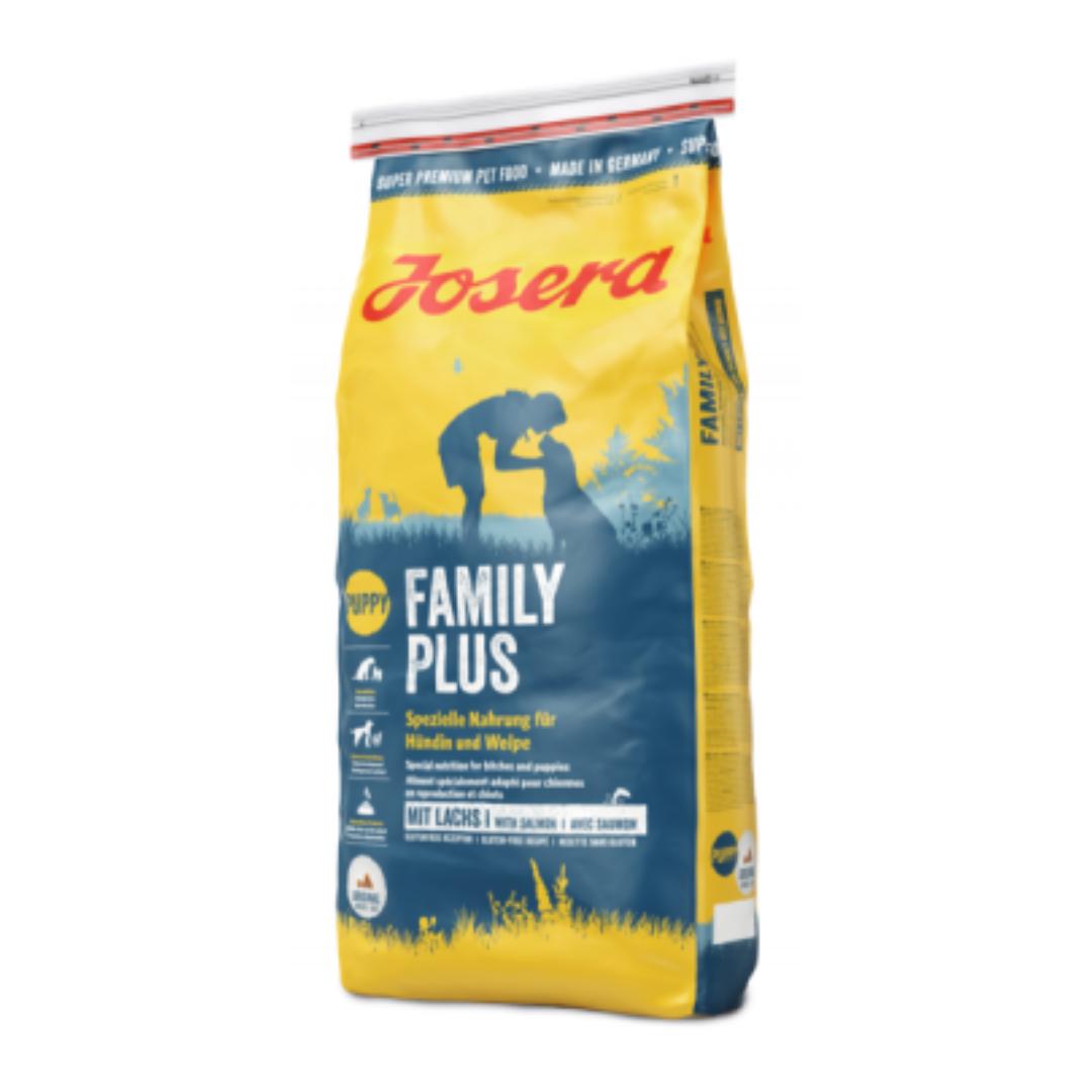 Корм Йозера Фемілі Плюс Josera Family Plus для собак 15 кг спрей Больфо кешбек та доставка