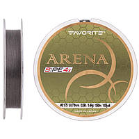 Шнур Favorite Arena PE 4x 150m (silver gray) #0.175/0.071mm 3.5lb/1.4kg