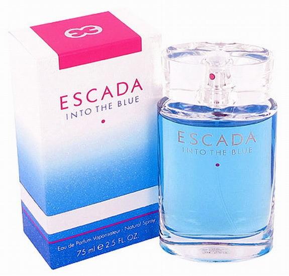 Escada Into The Blue парфюмированная вода 75 ml. (Эскада Инто Зе Блю)