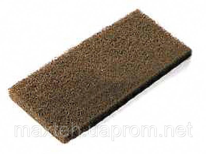 Пад абразивный коричневый 12х25см