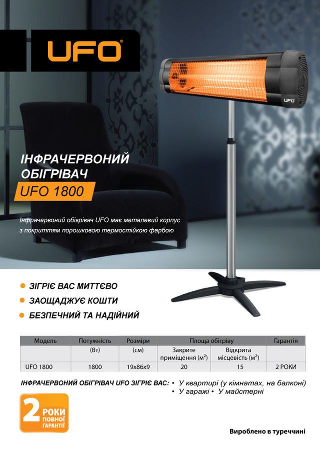 Обогреватель инфракрасный UFO ECO Mini 1500