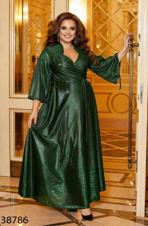 Нарядное вечернее платье Размеры: 48-52, 54-58, 60-64