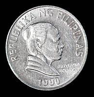 Монета Филиппин 5 сентимо 1990 г.