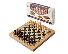 Ігровий набір 3в1 Нарди, Шахи, Шашки (29х29 см) Гранд Презент B3015
