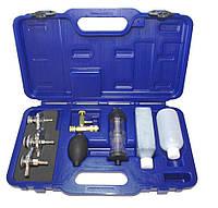 Диагностический набор для прокладки головки(тестер герметичности головки блока) с адаптерами ASTA A-1025B
