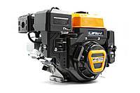Двигатель (бензин-газ) LIFAN KP230E (8л.с.) с электростартером вал Ø 20 мм под шпонку, фото 1