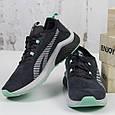 Женские спортивные кроссовки замшевые черные BaaS модель L1611-2 размер 36 - 41 р, фото 3