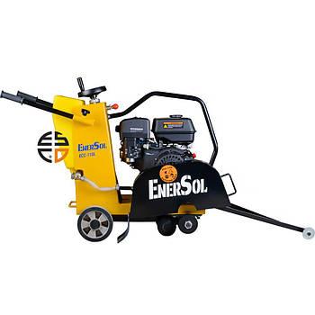 Бензиновый швонарезчик EnerSol ECC-110L, мощность 8 л.с., диаметр диска 350 мм, глубина реза 110 мм