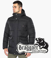 Мужская зимняя куртка цвета графит   Braggart Dress Code 57010, фото 1