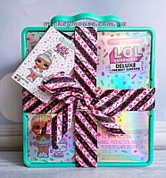 Оригинал L.O.L. Surprise! Игровой набор с эксклюзивной куклой и питомцем LOL Deluxe Present Surprise Пром-цена
