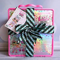 Оригинал.L.O.L. Surprise! Игровой набор подарок с эксклюзивной куклой и питомцем LOL Deluxe Present Surprise