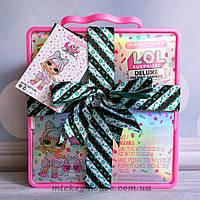 Оригинал L.O.L. Surprise! Игровой набор с эксклюзивной куклой и питомцем Deluxe Present Surprise Пром-цена