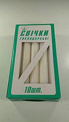 Свеча М.Коробка 18 см Ф 2 см  50гр (10 шт)