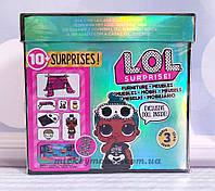 Оригинал. Игровой набор с куклой L.O.L. Surprise! Furniture S2 - Комната Леди-сплюшки 570035, фото 1