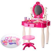 Туалетный столик, трюмо для девочки 661-22 со стульчиком и другими аксессуарами 11/19.8