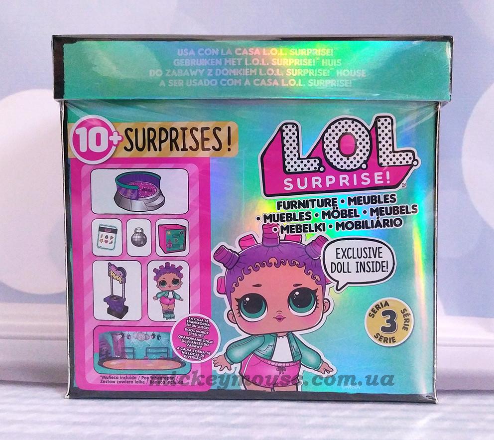 Оригинал. Игровой набор с куклой L.O.L. Surprise! Furniture S2 - Роллердром Роллер-леди 567103