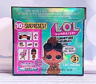 Оригинал. Игровой набор с куклой L.O.L. Surprise! Furniture S2 - Кабинет Леди-босс Пром-цена
