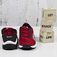 Модные молодежные кроссовки женские замшевые красные Повседневные женские кроссовки из замши BaaS размер 36-41, фото 5