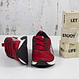 Модные молодежные кроссовки женские замшевые красные Повседневные женские кроссовки из замши BaaS размер 36-41, фото 6