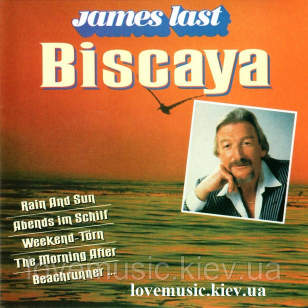 Музичний сд диск JAMES LAST Biscaya (1992) (audio cd)