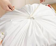 Корзина для игрушек и белья большая 50х48 см Листья, фото 6
