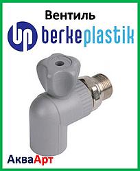 """Berke Plastik ппр вентиль кутовий для радіаторів 20x1/2"""""""
