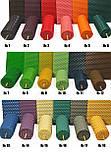 Свічки з кольорової вощини катані ручної роботи (висота 26 см діаметр 2,3 см), фото 2