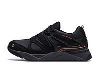 Мужские зимние кожаные кроссовки MERRELL vlbram Black р. 40  42 43 44, фото 1