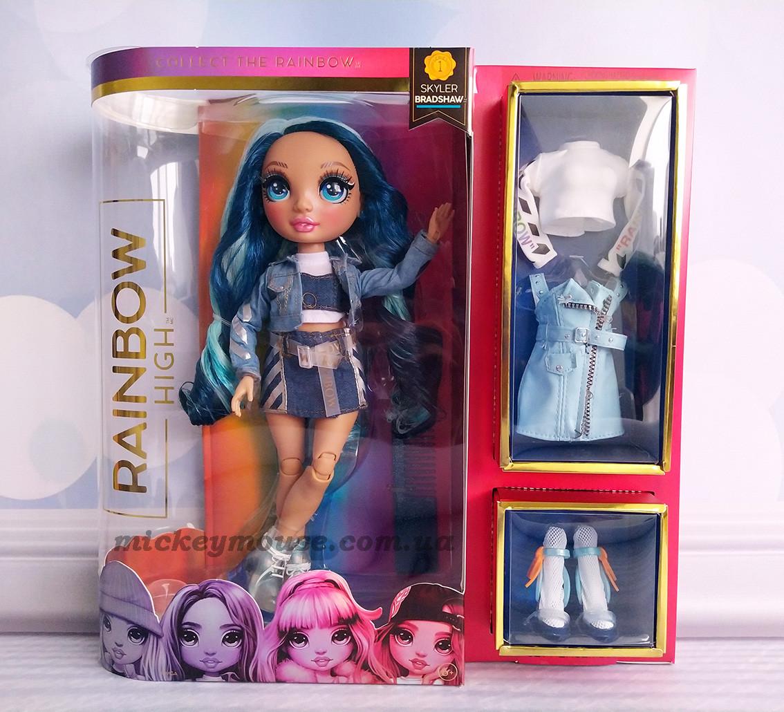 Кукла Рейнбоу Хай Скайлер Бредшоу rainbow High Skyler Bradshaw Blue 569633