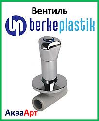 Berke Plastik ппр вентиль з подовженою хромованою ручкою 25 мм