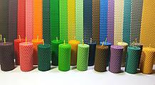 Вощина кольорова (18 кольорів) кольорова вощина. Ціна за 1 кг.