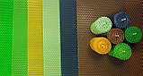 Кольорова вощина (10 кольорів) - набір для виготовлення качаних свічок і творчості розмір аркуша 10 на 13 см, фото 6