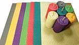 Кольорова вощина (10 кольорів) - набір для виготовлення качаних свічок і творчості розмір аркуша 10 на 13 см, фото 7