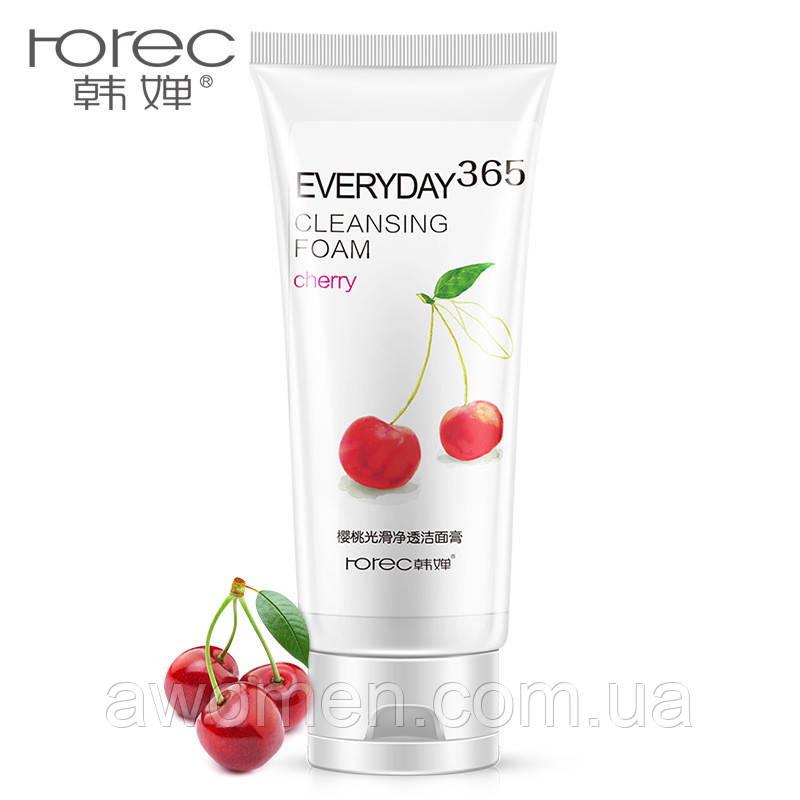 Пенка для умывания лица Rorec Cherry с экстрактом вишни 120 g
