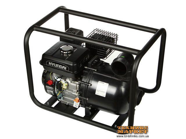 Мотопомпа для агрессивных жидкостей Hyundai HYA 53