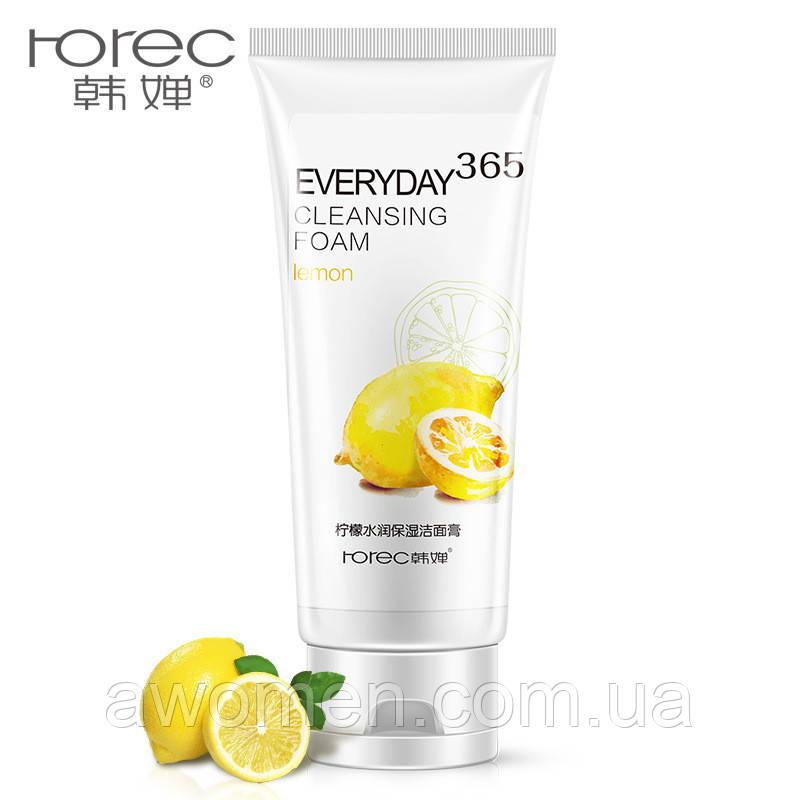 Пенка для умывания лица Rorec lemon с экстрактом лимона 120 g