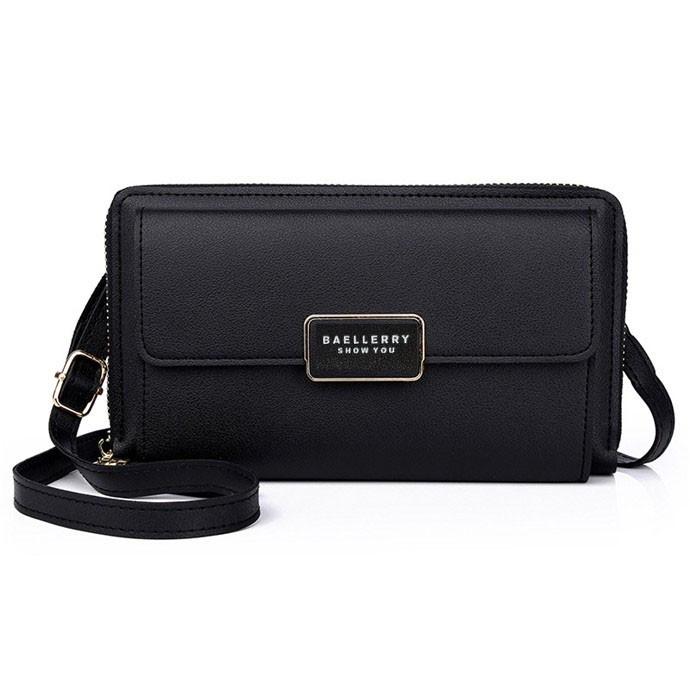 Стильный женский клатч, сумочка Baellerry Show You. Черный