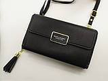 Стильный женский клатч, сумочка Baellerry Show You. Черный, фото 3