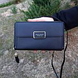 Стильный женский клатч, сумочка Baellerry Show You. Черный, фото 4