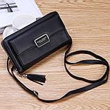 Стильный женский клатч, сумочка Baellerry Show You. Черный, фото 5