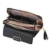 Стильный женский клатч, сумочка Baellerry Show You. Черный, фото 8