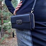Стильный женский клатч, сумочка Baellerry Show You. Черный, фото 9